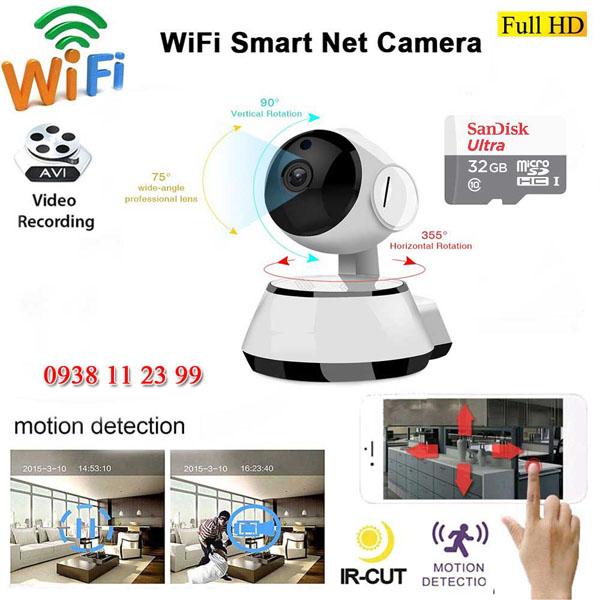 Camera wifi Kbone xoay 360 độ là một trong các dòng camera mới nhất hiện nay của Mỹ với giá bán ưu đãi bung nốc trong thời điểm hiện tại chỉ từ 1.370K là người dùng có thể lắp đặt ngay tại nhà của mình để phục vụ thay cho một người bạn, một người bảo vệ cho gia đình trung thành nhất.